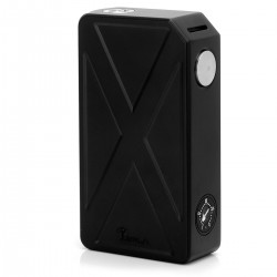 Authentic Tesla Invader III 240W VV Variable Voltage Box Mod - Black, Zinc Alloy, 2 x 18650, 3.6~6.6V