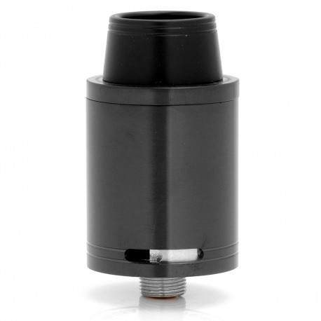 Swav Atty Style RDA Rebuildable Dripping Atomizer - Black, Stainless Steel, 22mm Diameter