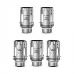 Authentic SmokTech Micro MTL Mouth-to-Lung Core Coil Head - Silver, 1.2 ohm (18~40W) (5 PCS)