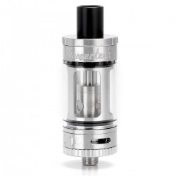Authentic Kanger Toptank Mini Sub Ohm Tank Clearomizer - Silver, Stainless Steel + Glass, 4ml, 0.5 ohm, 22mm Diameter