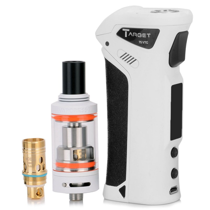 Authentic Vaporesso Target VTC 75W White VW Mod + cCELL ...