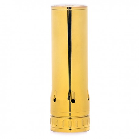 Hades Style Mechanical Mod - Golden, Stainless Steel, 1 x 26650