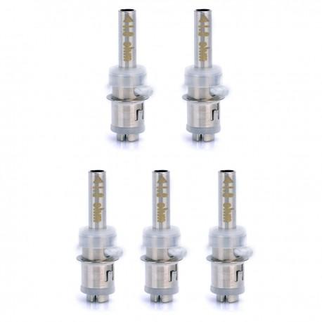 Authentic Eleaf BCC Atomizer Coil Heads - Silver, 1.8 Ohm (5 PCS)