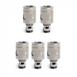 Authentic Kanger Ceramic Coil Head - Silver, 0.5 Ohm (35~60W) (5 PCS)