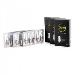 Authentic CoilART Kanthal / Ni200 / Titanium CTCL Coil Kit for eGo One, Tron - TC Combo + Clapton Combo + Twisted Combo