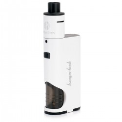 Authentic Kanger DRIPBOX Starter kit 60W Dripmod + Subdrip Kit - White, 1 x 18650, 7.0mL