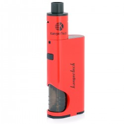 Authentic Kanger DRIPBOX Starter kit 60W Dripmod + Subdrip Kit - Red, 1 x 18650, 7.0mL