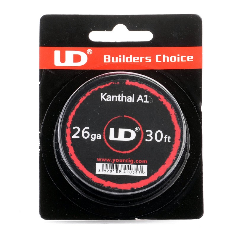 Authentic youde ud kanthal a1 26 awg 04mm x 10m resistance wire authentic youde ud kanthal a1 26 awg resistance wire for rba 04mm diameter greentooth Images