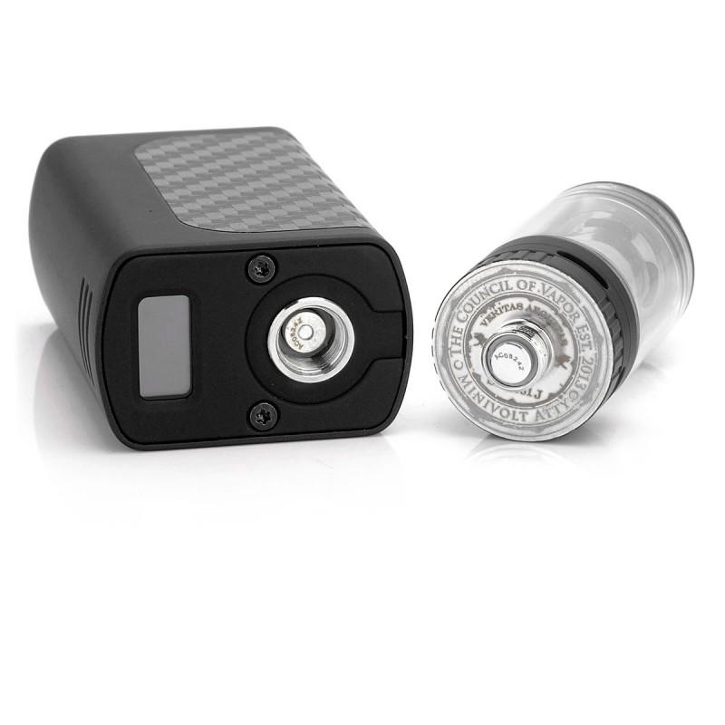 Authentic Council Of Vapor Mini Volt 40w Kit Black 1300mah