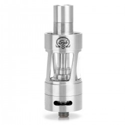 Authentic Innokin iSub S Clearomizer - Silver, Stainless Steel, 4.5ml, 22mm Diameter