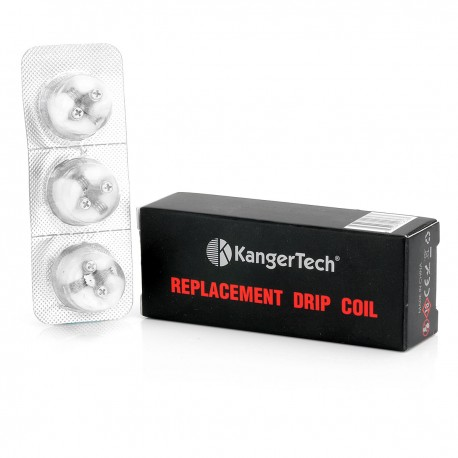 Authentic Kanger Subdrip Replacement Coils for DRIPBOX - 0.2 Ohm (3 PCS)