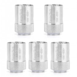 Authentic Kanger CLOCC SS316 Replacement Coil Heads for CLTANK / CUPTI Starter kit - Silver, 0.5 Ohm (15~60W) (5 PCS)
