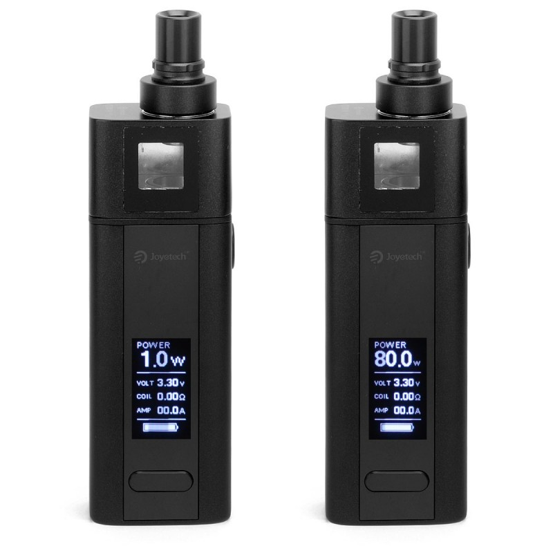 Vision 0 sticker - Authentic Joyetech Cuboid Mini 80w Tc Black Vw Kit With