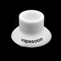 Authentic Vapesoon Silicone Suction Cap for E-cigarettes - White