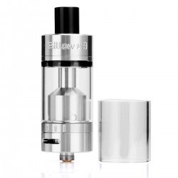 Authentic Ehpro Billow V3 RTA Tank Rebuildable Atomizer - Silver, 4.6ml, Stainless Steel