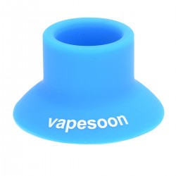 Authentic Vapesoon Silicone Suction Cap for E-cigarettes - Blue