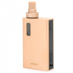 Authentic Joyetech eGrip II Kit - Golden, Stainless Steel, 3.5ml, 2100mAh, 1~80W (Standard Kit)