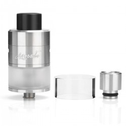 Authentic GeekVape Avocado 24 RDTA Tank Rebuildable Dripping Tank Atomizer - Silver, 5ml, 24mm Diameter