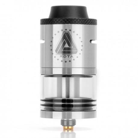 Authentic IJOY Limitless RDTA Rebuildable Dripping Tank Atomizer - Silver, Stainless Steel, 4ml