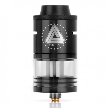 Authentic IJOY Limitless RDTA Rebuildable Dripping Tank Atomizer - Black, Stainless Steel, 4ml