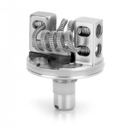 Authentic SMOKTech TF-RDTA S2 DECK Rebuildable Dripping Tank Atomizer Coil Head - Silver