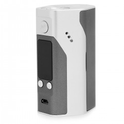 Authentic Wismec Reuleaux RX200S TC VW Variable Wattage Box Mod - Silver + Grey, Stainless Steel, 1~200W, 3 x 18650
