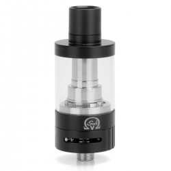 Authentic Innokin iSub V Sub Ohm Tank Clearomizer - Black, Stainless Steel, 3ml, 0.5 Ohm