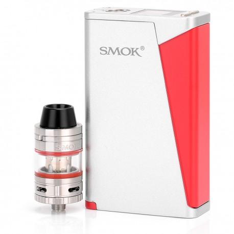 Authentic SMOKTech SMOK H-Priv TC / VW Box Mod + Micro TFV4 Tank Kit - Silver, 6~220W, 2 x 18650, 2.5 / 3ml, 0.3 Ohm