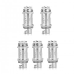 Authentic Aspire Nautilus X U-Tech Coils - Silver, Stainless Steel, 1.5 Ohm (5 PCS)