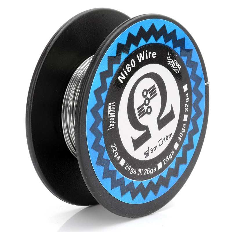 Authentic VapeThink Ni80 24 AWG 0.5mm 5m Heating Resistance Wire