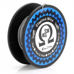 Authentic VapeThink Kanthal A1 Clapton 24GA / 32GA Heating Wire for RBA / RDA / RTA - Silver, 0.5mm/0.2mm, 5m (15feet)