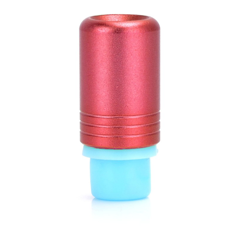 VIP 510 Drip Tip - Red, Silicone + Aluminum, 24.4mm
