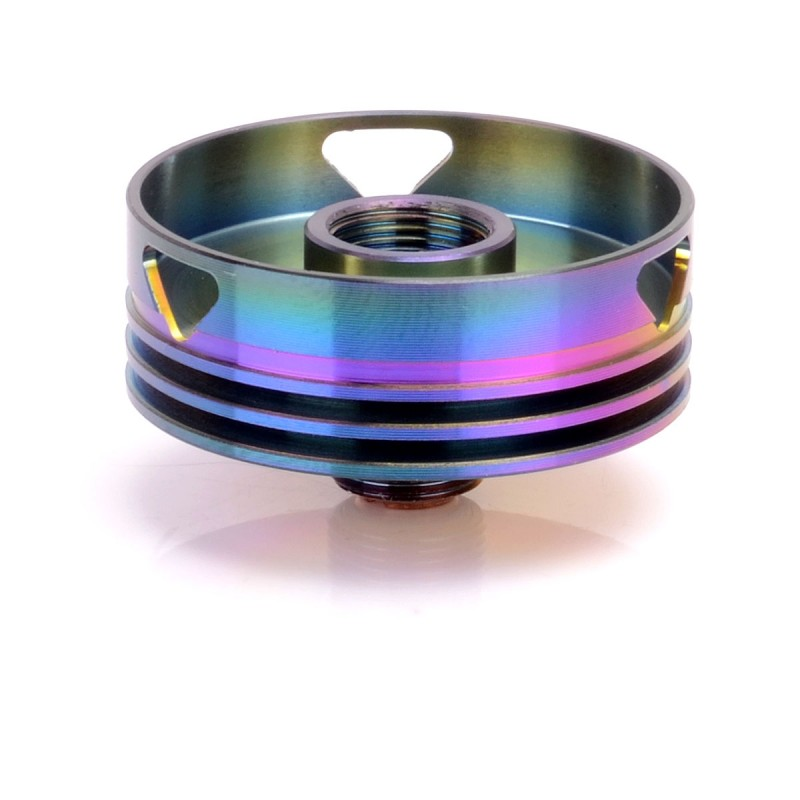 Replacement multicolor 24mm heat sink for 22mm atomizer for Colored stainless steel sinks