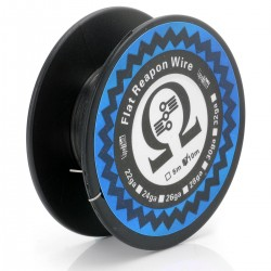 Authentic VapeThink Kanthal A1 Flat Reapon Resistance Wire for RBA / RDA / RTA - Silver, 0.1 x 0.5mm, 10m (30 Feet)