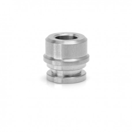 SJMY Drip Tip for Kayfun V5 RTA Rebuildable Tank Atomizer - Silver, Stainless Steel, 9mm