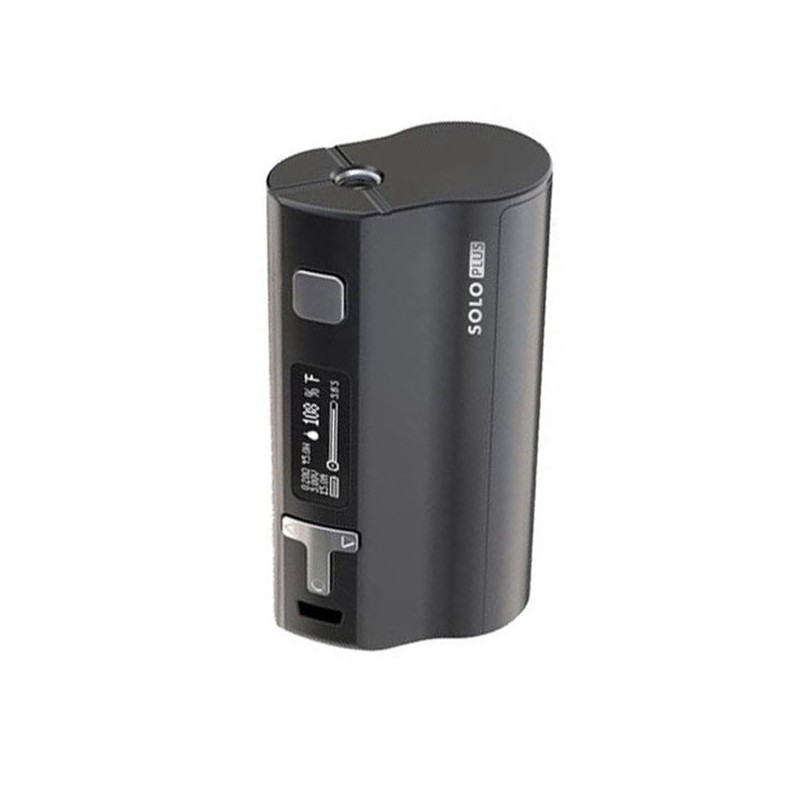 Pre-order Authentic Ijoy Solo Plus 85W TC Temperature Control VW Variable Wattage APV Box Mod - Black, 5~85W, 1 x 26650