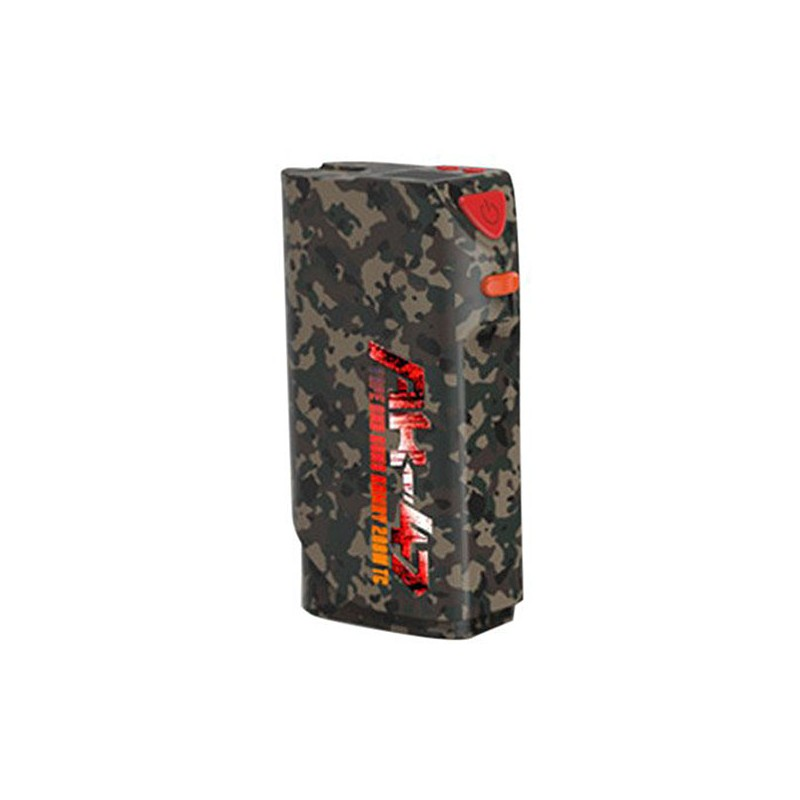 Authentic Kamry AK-47 200W 4500mAh TC VW Variable Wattage APV Box Mod - Camouflage Color, Zinc Alloy, 3~200W