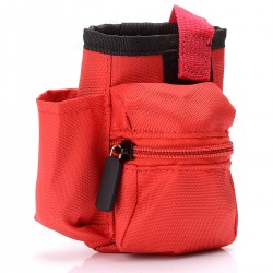 Authentic Advken Vapor Carrying Pouch Bag V1 for Electronic Cigarettes - Red, Polyester