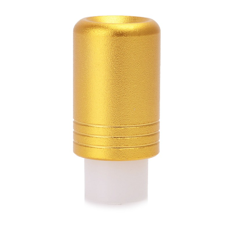 VIP 510 Drip Tip - Golden, Aluminum, 24.4mm
