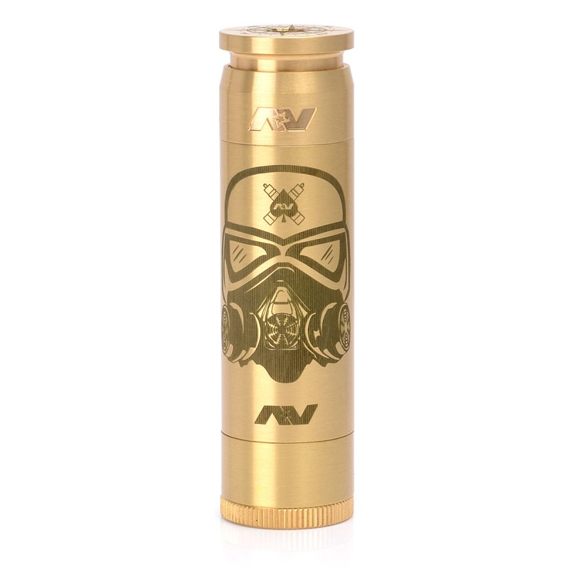 LE Cloud Trooper Stormtrooper Able Style Mechanical Mod - Brass, 1 x 18650
