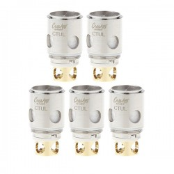 Authentic CoilArt CTUL CTNOTCH Replacement Coil Head for Uwell Crown Tank - 0.2 Ohm (5 PCS)