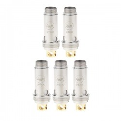 Authentic CoilArt CTCO Kanthal Replacement Coil Head w/ Silicone Ring for Aspire Cleito - 0.5 Ohm (5 PCS)