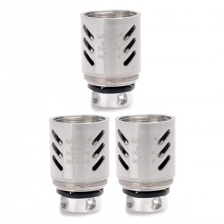Authentic SMOKTech SMOK V8-Q4 Coil Head for TFV8 CLOUD BEAST Tank - Silver, Stainless Steel, 0.15 Ohm (3 PCS)