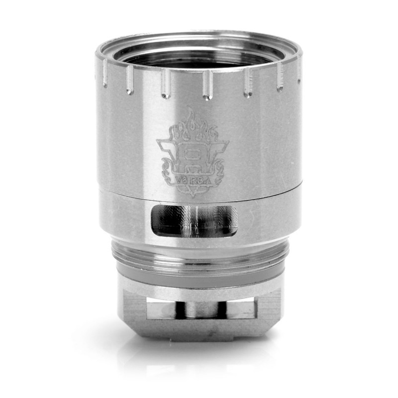3FVape   Authentic SMOKTech SMOK V8 RBA Coil Head for TFV8 CLOUD BEAST Tank - Silver, Stainless Steel, 0.28 OhmOriginal text