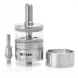 Authentic Kanger Aerotank Giant 510 BDC Clearomizer - Silver + Translucent, Stainless Steel + Glass, 4.5mL, 1.8 Ohm