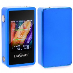 "Authentic Laisimo L3 200W TC 2.4"" TFT Touch Screen VW Variable Wattage Box Mod - Blue, 5~200W, 2 x 18650"
