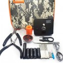 Coil designer Full Tool kit for RDA / RBA / RTA Rebuildable Atomizer - Camouflage Color