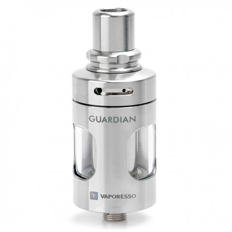 Authentic Vaporesso Guardian cCELL Tank Atomizer for Target Mini - Silver, Stainless Steel, 2ml, 22mm Diameter