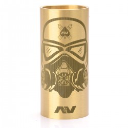 Replacement Stormtrooper Tube for AV Able Mechanical Mod - Brass, Brass