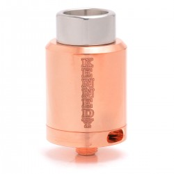 SXK Kennedy 24 Style Dual-pole RDA Rebuildable Dripping Atomizer - Copper, Copper, 24mm Diameter